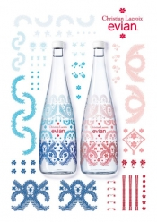 The new limited edition by evian and Christian Lacroix