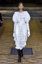 Simone Rocha gets ethereal at London Fashion Week