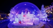Monaco turns into Winter Wonderland