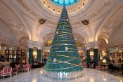 Chopard Christmas Tree at Hôtel de Paris Monte-Carlo