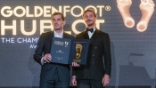Iker Casillas,chosen the best player by Hublot Golden in Monaco