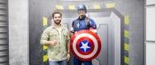 Gaspard Ulliel, Kendji et Arthur :like Avengers at Disneyland Paris