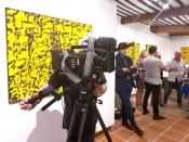 L'Exposition par l'Artiste Amoureux de l'océan Pendant Monaco Yacht Show