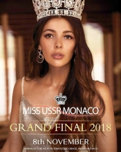 Miss USSR Monaco during the MICS