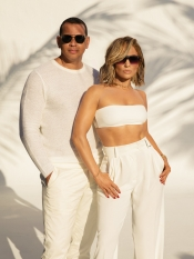 Jennifer Lopez and Alex Rodriguez, couple ambassadors for the first time