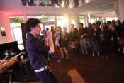 Andy Je t'aime unveiled his new songs at Cannes
