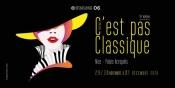 The Programme for the Festival C'est pas Classique, Alpes Maritimes