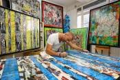 Gregory Berben, Un Artiste Qui Prend son Créativité de la Cote d'Azur