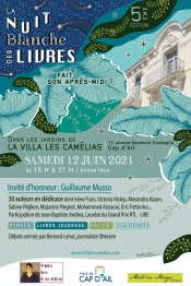 The White Night of Books at Villa Les Camelias