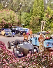 La Dolce Vita for the Ladies Rally Vintage Cars 2021