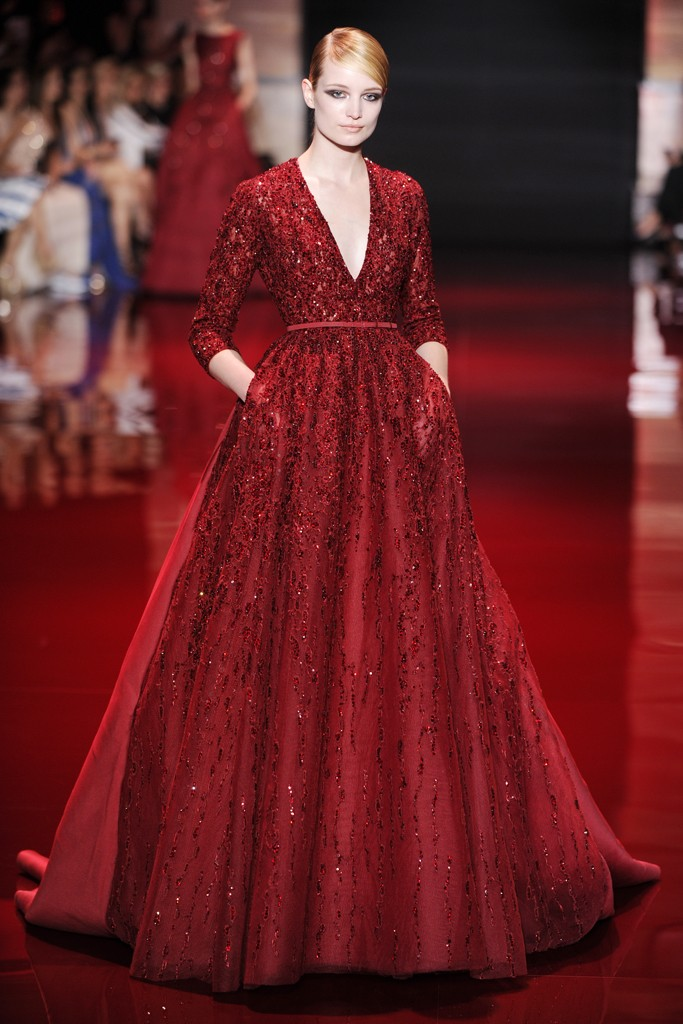 Collection Couture Elie Designer Saab Otoño 2013 The T1Jc3KlF