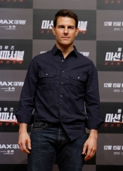 Tom Cruise at Japan and Korea Premiere of Mission Impossible Ghost Protocol