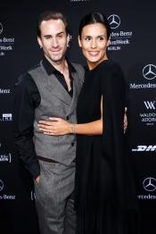 A Walk on the Moon Laurèl Fashion Show at Mercedes-Benz Fashion Week Berlin