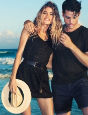 Doutzen Kroes For H&M High Summer 2013 campaign