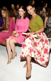 Celebrities at the Michael Kors Summer 2014 Runway