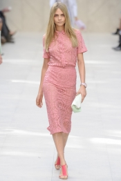 Burberry Prorsum Spring 2014 Fashion Show