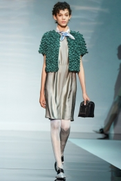 Emporio Armani Fashion collection Spring 2014