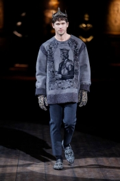 Dolce&Gabbana Winter 2015 Mens Fashion Show
