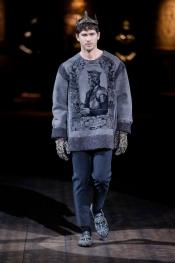 Le Défilé Dolce&Gabbana Hiver 2015 Hommes