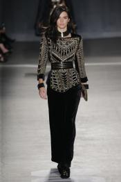 Balmain x H&M Fashion Show in New York