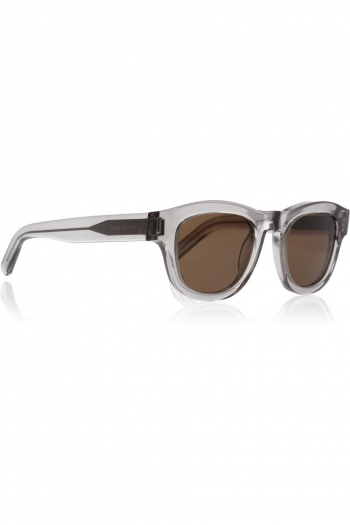 43f9b40a129 SAINT LAURENT Bold 2 D-frame acetate sunglasses