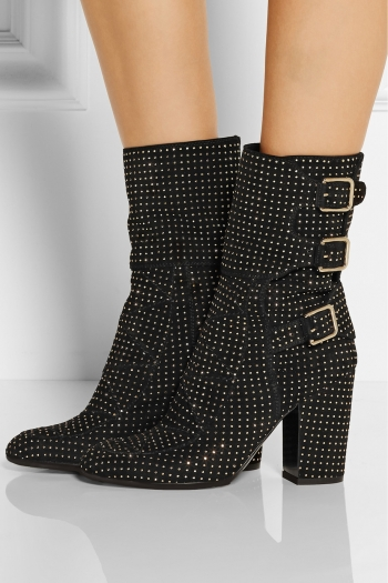 LAURENCE DACADE Merli studded suede boots