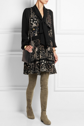 6d2b6aba141 ISABEL MARANT Étoile Brenna stretch-suede over-the-knee boots