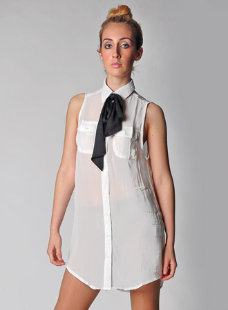 Women's White Celeste Dress By Motel