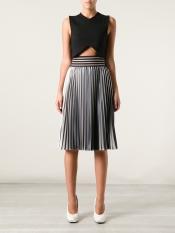 CHRISTOPHER KANE striped skirt