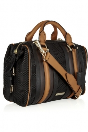 Burberry Prorsum Leather bowling bag