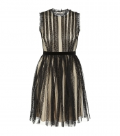 Lace and Tulle Dress by Red Valentino