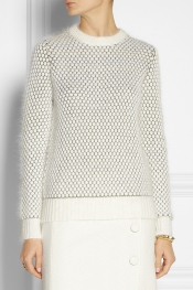 3.1 PHILLIP LIM Bubble-knit wool-blend sweater