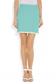 3.1 PHILLIP LIM Fringed corded chiffon skirt