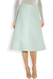MARNI Cotton and silk-blend organdy circle skirt