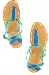 K JACQUES ST TROPEZ Buffon leather sandals