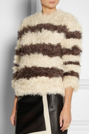 THAKOON Striped kalgan lamb sweater