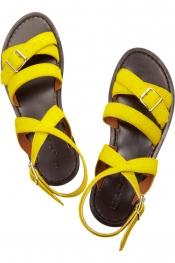 MARNI Calf hair sandals
