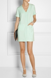 T BY ALEXANDER WANG Gabardine shift dress