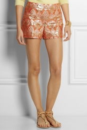 J.CREW Collection brocade shorts