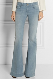 J BRAND 722 Love Story low-rise flared jeans