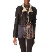 Givenchy shearing biker jacket