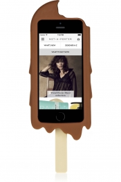 MOSCHINO Chocolate Ice Cream silicone iPhone 5 cover