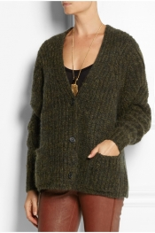 ISABEL MARANT Franckcoat knitted cardigan