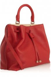 MULBERRY Kensington small textured-leather shoulder bag