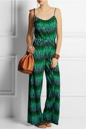 MICHAEL MICHAEL KORS Combi-pantalon en crêpe imprimée Sumatra