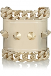 GIVENCHY Pale gold-tone cuff