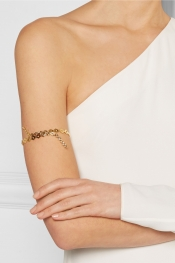 ARME DE L'AMOUR Gold-plated arm cuff