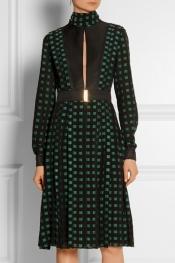 PROENZA SCHOULER Pleated fil coupé dress