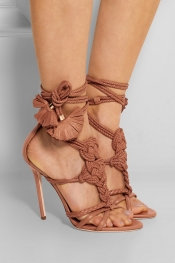 BRIAN ATWOOD Yuna braided leather sandals