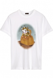 COACH Buster Le Fauve printed cotton-jersey T-shirt